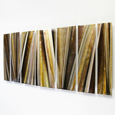 Modern Abstract Metal Wall Sculpture Art Contemporary Painting Home Decor Large