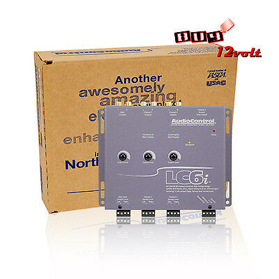 AudioControl LC6i Gray 6 Channel Line Output Converter