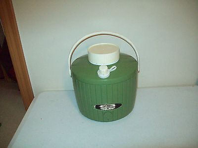 Vintage Thermos brand thermo cooler jug classic 1960's plastic picnic ware