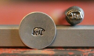 SUPPLY GUY 5mm Bear Metal Punch Design Stamp SGM-45, Made in the USA