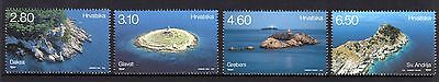 Croatia 2015 Lighthouses Set 4 MNH
