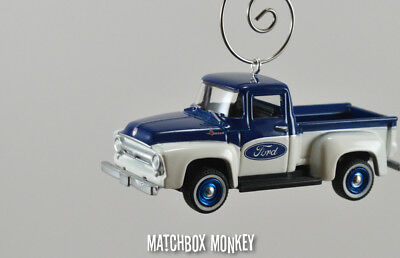 Vintage Style 1972 Ford F-100 Pickup Truck Christmas Ornament 1//64 Adorno F100