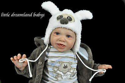Reborn Baby Doll Lifelike Realistic Vinyl Phoebe doll kit *Phil Donnelly Babies*