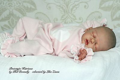 Reborn Baby Doll Lifelike Realistic Vinyl doll kit Katriona*Phil Donnelly Babies