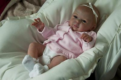 Reborn Baby Doll Lifelike Realistic Vinyl doll kit Kristan *Phil Donnelly Babies