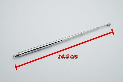 1pc Telescopic Antenna for Boombox Transistor and Portable Radio