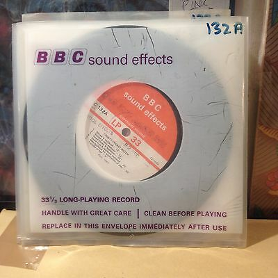 "BBC Sound Effects 7""-EC 132 A -- ""County Cricket Match"" !!!!!"