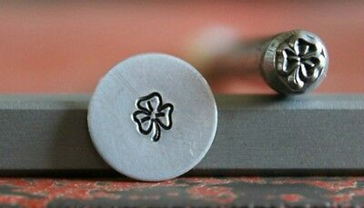 SUPPLY GUY 5mm Clover Flower Metal Punch Design Stamp SGA-42, Made in the USA