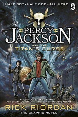 Percy Jackson and the Titans Curse: The Graphic Novel Book 3 Percy Jackson