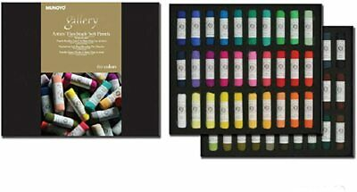 Mungyo Professional Gallery Handmade Soft Pastel 60 Colors Artist Drawing MPHM60