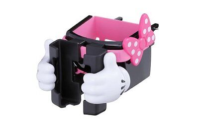 NAPOLEX Disney Car Goods smartphone AC holder Minnie WN-22 Japan