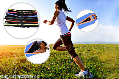 Accessories UK Green Running Belt With Smartphone Pocket Running Accessories UK