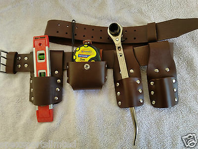 New Scaffold Thick Leather Tools Belt Set  With Quality TOOLS SET.