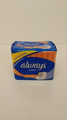 Always Classic Normal Sanitary Pads 4 Packs Of 10 Pads