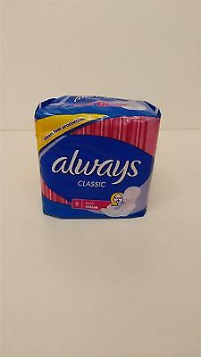 Always Classic Maxi Sanitary Pads FOUR PACK 4x9 Pads