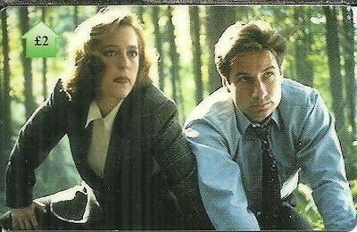 Rare / Carte Telephonique - The X Files / Limitee A 500 Exemplaires / Phonecard