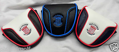New - Old Course St. Andrews Golf 'Apollo' Mallet Putter Cover