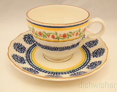 Mikasa Country Classics FRENCH TERRACE DC304 Cup & Saucer Set(s)