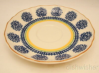 """Mikasa Country Classics FRENCH TERRACE DC304 Saucer(s) 6 1/2"""""""