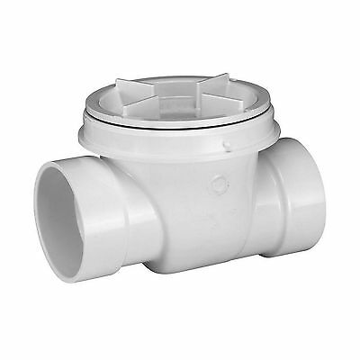 4 In. PVC DMV Sewer Drain Fluid Backwater Valve