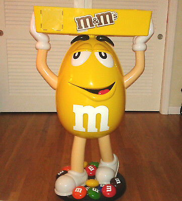 M&M Life Sized Giant Display Statue Animated Character Prop Replica Advertising