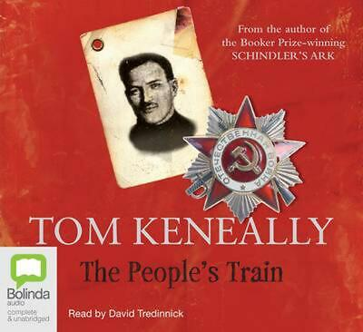 NEW The People's Train by Tom Keneally Compact Disc Book Free Shipping
