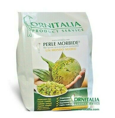 Perle Morbide 800g for Birds Cage Aviary Alternative to Germinated or Soak Seed