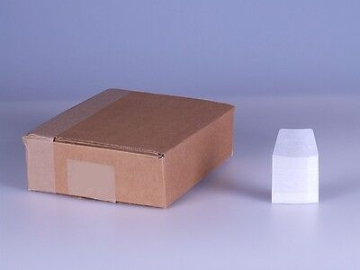 Acid Free Glassine Envelopes for stamps. 62mm x 62mm. Pack of 100. Free Shipping
