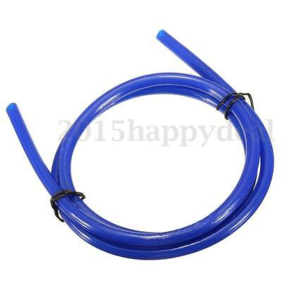1M Blue Motorcycle Fuel Line Petrol Pipe Oil Delivery Tube Hose 5mm I/Dx 8mm O/D