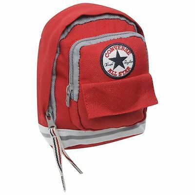 Converse Bag Mini Backpack Holdall Rucksack Purse Belt Clip On Bum Bag New