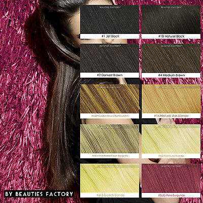 Double Weft Thick Deluxe 20 inch Clip in 100% Remy Human Hair Extension