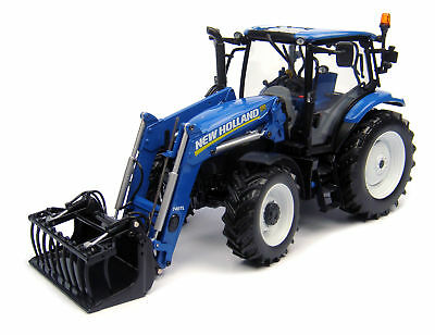 New Holland T6.140 mit Frontlader (2014) 1:32 Universal Hobbies UH 4232