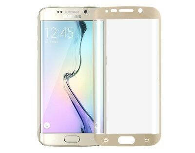 New Samsung Galaxy S6 Edge Plus + Curved TPU Full Screen Protector Ultra Gold