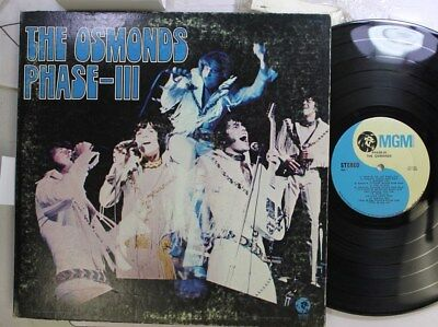 Rock Lp The Osmonds Phase-Iii On Mgm