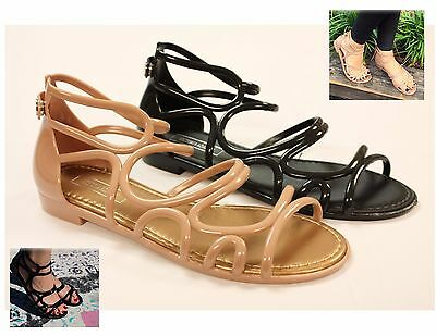 JAMAICA JELLY SANDAL WOMEN SHOES FLIP FLOP THONG FLAT BOWTIE by VICTORIA ADAMES