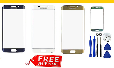 Outer Front Glass Screen Replacement Frame For Samsung Galaxy S7 & S6 Edge Plus