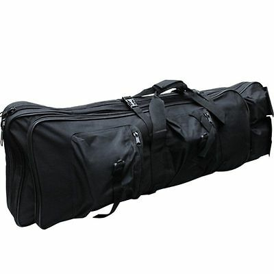 33Inch 85cm Black Hunting Shotgun Rifle Bag Dual Padded Carry Gun Case