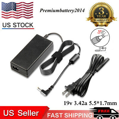 AC Adapter DC Power Supply Cord Charger For Gateway NV Series Laptop Notebook PC