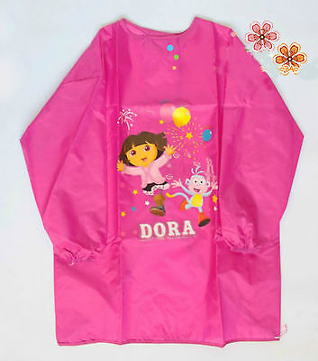 Clearance!!! Dora Kids Children Kitchen Apron Child Art Cooking Craft Bib new