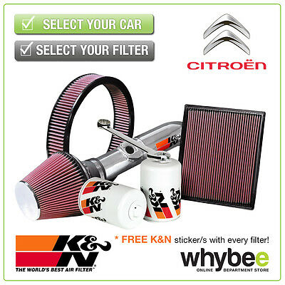 CITROEN DS3 All K&N KN Performance Filters inc Air, Oil & Intake Kits - New!