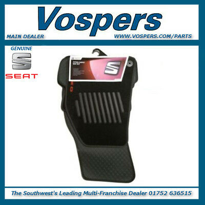 Genuine Seat Exeo Front & Rear Carpet Floor Mats. New, 3R0061675A041
