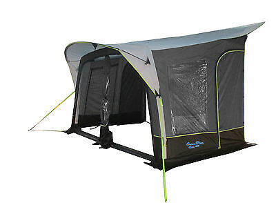 350 AIRBEAM INFLATABLE CARAVAN AIR AWNING with CANOPY - 2016 MODEL EX DEMO