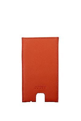 Iphone Cases Ju'Sto Unisex Eco Leather Orange PORTAIPHONEARANCIOSCURO