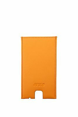Iphone Cases Ju'Sto Unisex Eco Leather Yellow PORTAIPHONEGIALLOCROMO