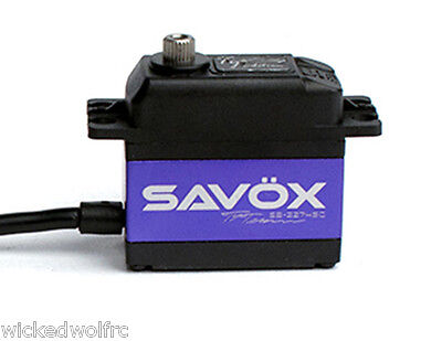 Savox SAVSB2274SG-TE High Speed Brushless Steel Gear Digital Servo