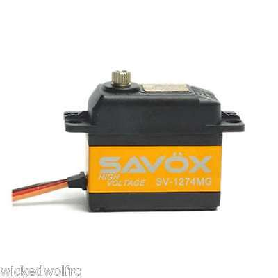 Savox Sv-1274Mg High Voltage Coreless Digital Servo Planes, Helis,1/10 Cars