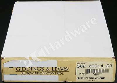New Giddings & Lewis 502-03814-60 PiC900 Turbo2 CSM/CPU 25MHz 256K App 256K RAM