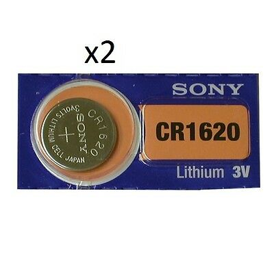 Sony -  2  piles  CR1620 Pile Bouton Lithium - 3V