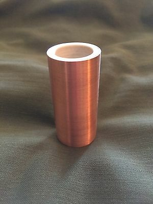 JSA Cu63 Copper Hybrid Guitar Slide (fits middle and third fingers)