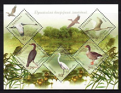 Ukraine 2004 Birds Sheetlet 5 MNH